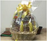 We just received this beautiful basket from the Nicholson family who just returned from a fantastic family reunion cruise.